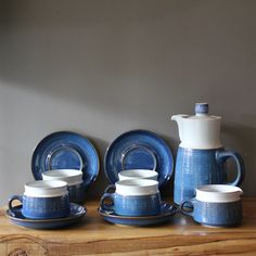 Little Blue Tea Set