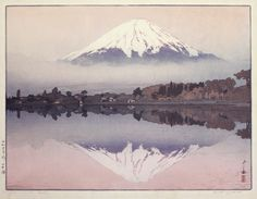 """Fujiyama from Okitsu"" series 