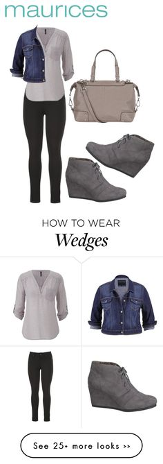 """The Perfect Blouse with maurices: Contest Entry"" by binaj on Polyvore featuring maurices"