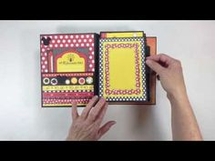 Vacation Mini Album - Build A Page Style - YouTube