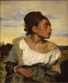 Eugène Delacroix - Jeune orpheline au cimetière (vers 1824) - Eugène Delacroix - Wikipedia, the free encyclopedia