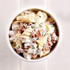 A gőzölgő beton és a szikrázó napsütés duettje nem nagyon növeli az étvágyat, ezért ilyenkor érdemes könnyű ételeket fogyasztanod. My Recipes, Pasta Recipes, Salad Recipes, Healthy Recipes, Soup And Salad, Pasta Salad, Cold Dishes, No Cook Meals, Cooking Tips