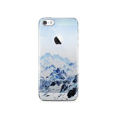 Snowy IPhone 5S Clear Case