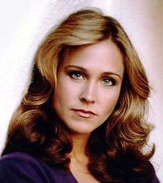 """Erin Gray (Wilma Deering) she looks very serious. Her expression i like she's saying """"Where do you think yourrr going? Hollywood Girls, Classic Hollywood, Buck Rodgers, Erin Gray, Grey Bikini, Melissa Joan Hart, Hottest Female Celebrities, Lynda Carter, Amanda Bynes"""