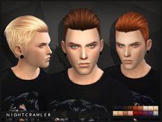 My Sims 4 Blog: Nightcrawler 03 Hair for Males