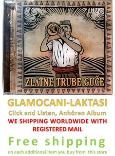 CD ZLATNE TRUBE GUCE compilation 2005 guca truba srbija etno muzika balkan folk