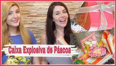 Caixa Explosiva de Páscoa -  Explosive Box Easter