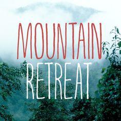 MOUNTAIN RETREAT - Typeface