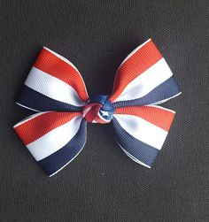 4th of July Hair Bow 2 - Alligator Clip