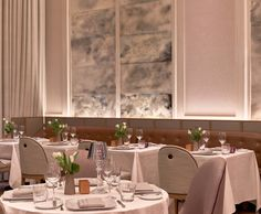 Dining Venue at Baccarat Hotel New York
