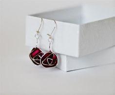 The Beading Gem's Journal: Glasgow Rose Inspired Wire Earrings Tutorial