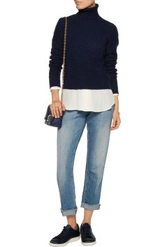 Shop on-sale Equipment Atticus cable-knit wool and cashmere-blend turtleneck sweater. Browse other discount designer Knitwear & more on The Most Fashionable Fashion Outlet, THE OUTNET.COM