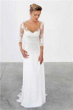 Flawless Wedding Dress - www.ebyhomestead.com