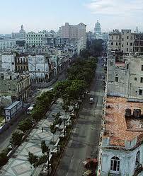 Paseo del Prado Havana Cuba