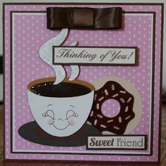 love you a latte cricut cartridge card ideas | Craft with Bee: February 2012