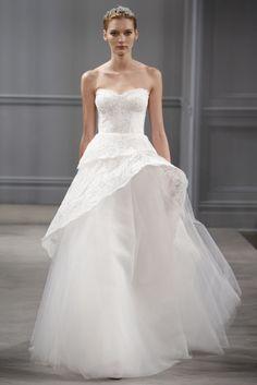 Vestido de novia de Monique Lhuiller