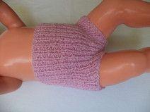 kurze Babyhose Wolle 62/68