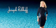 New designs from Joseph Ribkoff, stunning dresses perfect for the upcoming holiday season!