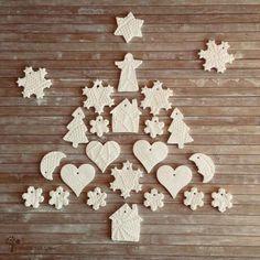 Porcelán gyurma recept - CREALEXIA Xmas, Christmas, Dory, Gingerbread Cookies, Baking Soda, Hobbies, Gingerbread Cupcakes, Weihnachten, Weihnachten