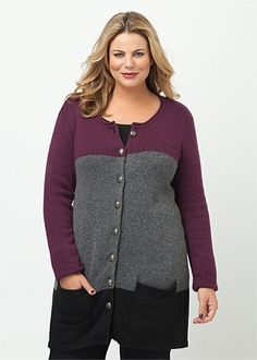 Big Sizes Womens Clothing | Clothes for Larger Size Women - LEON CARDIGAN - TS14