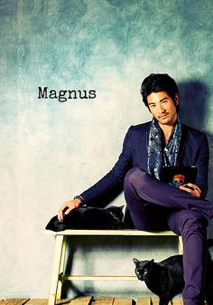 Godfrey Gao has been cast as Magnus Bane for the City of Bones movie! Now all we need is an Alec!