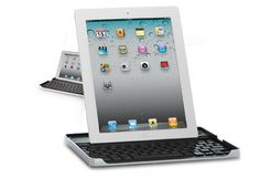 A wireless keyboard/case for my iPad. There are so many variations, but this one looks cool and compact.     It also makes the iPad look way more like a laptop.