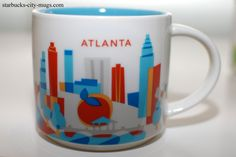 Atlanta Starbucks Mug -- I have been looking for one in each Starbucks, but they are few and far between