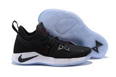 714cb23e748 Various Styles Nike Paul George PG 2 PE Black White Men s Basketball Shoes  Male Sneakers