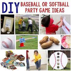 61 DIY Baseball Birthday Party Ideas | About Family Crafts