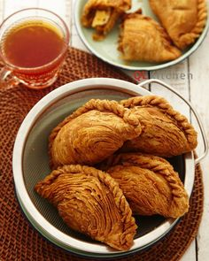 Extra Size Spiral Curry Puff Recipe
