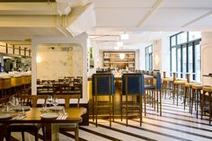 At Bonhomie in the 10th Arrondissement, food and drinks are built around the pillars of the Mediterranean diet in a warm, inviting setting.