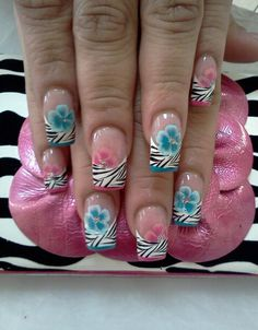 Wild Flowers by Christel Nails