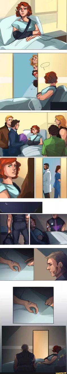 marvel, avengers, clintasha - This actually made me sad. THE FEELS.