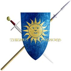Thibaut de Solages. He being from the House of Solages of Rouergue, took the Cross in 1248 to join the sixth crusade.