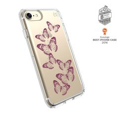 iPhone 7 Presidio Clear Print Rose Gold