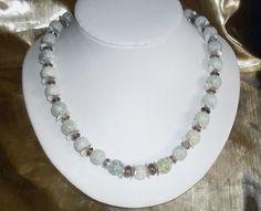 Elegante Jadekette von Heilstein-Atelier auf DaWanda.com