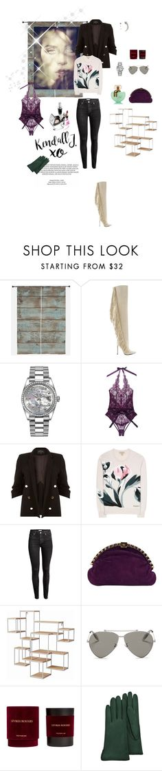 """Untitled #667"" by xocolate ❤ liked on Polyvore featuring Retrò, Lust For Life, Rolex, L'Agent By Agent Provocateur, River Island, Burberry, H&M, Andrea Pfister, xO Design and Alexander McQueen"