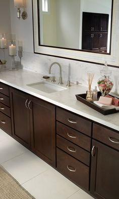 Java color: Custom Bathroom Cabinets & Kitchen Cabinets Gallery
