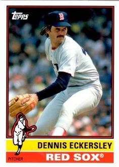 dedaf42b36bbe Dennis Eckersley 2015 Topps Archives  133. Gordon Clow · Baseball Cards -  Boston ...
