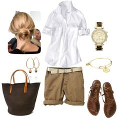 """Weekend Look"" by bluehydrangea on Polyvore"