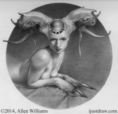 777 KB Honorable Mention in the Drawing Category Allen Williams Sphynx Graphite on Paper 10 x 10 inches Arte Horror, Horror Art, Art Flash, Allen Williams, Art Du Croquis, Arte Obscura, Dark Art Drawings, Sphynx, Creature Design