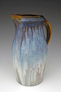 *Ceramic Pitcher by Bill Campbell Pottery Teapots, Pottery Plates, Pottery Mugs, Pottery Art, Pottery Ideas, Ceramic Pitcher, Ceramic Art, Ceramic Jugs, Wabi Sabi