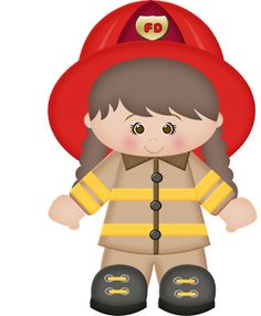 510 best fire trucks and fire fighters images on pinterest fire rh pinterest com fireman clipart black and white fireman clipart free