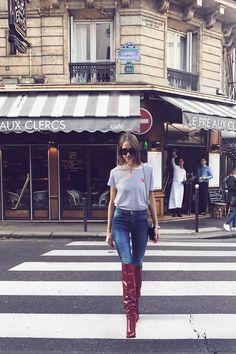 The Parisian walk