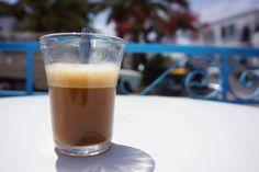 Capucin, notre café-noisette de Jerba.