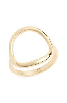 Main Image - Madewell Open Circle Ring