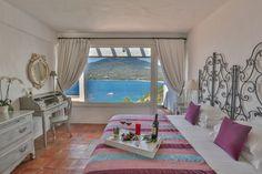 La chambre Deluxe 200 est situées au dernier étage de l'hôtel et dispose d'une terrasse face à la mer.