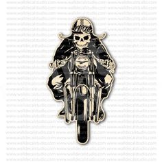 Moto Guzzi Skull Racer Italian Motorcycle Sticker for - Stickers Motorcycle Motorcycle Stickers, Motorcycle Art, Moto Guzzi, Le Mans, Skull, Graphics, Bike, Culture, Motorcycles