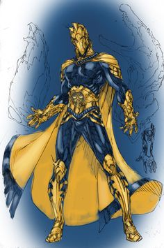 Demonpuppy's Wicked Awesome Art Blog: The many faces of DR. FATE!!!