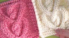 Jak Knit kabel srdce  Zdarma pletení vzor + Video výuka Studio Knit